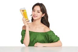 .李惠利成为青岛啤酒韩国地区新晋品牌代言人.