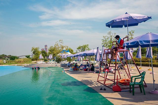 [한강 물놀이장 이용 팁]한강 야외수영장 이용 시 주의할 점?