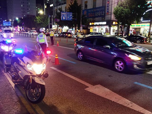 인천경찰,8월 경찰오토바이 야간 특별단속 실시
