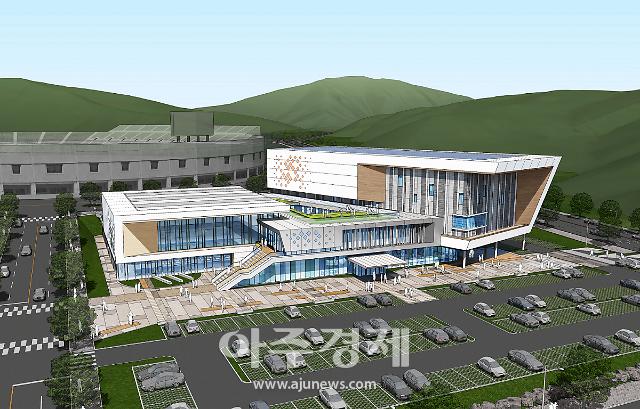 파주시 금촌 다목적 실내체육관, 2021년 말 준공예정