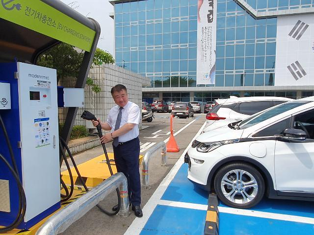 인천도시공사, 전기차 급속충전기 24시간 개방