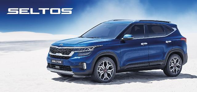 기아차 '셀토스', 소형 SUV 신흥강자로 급부상