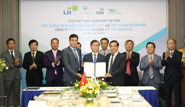 LH, 베트남 하노이 인근서 한국형 산업단지·사회주택 본격 조성