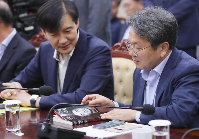 """日 언론 """"조국 법무장관 후보자 대일 초강경파"""" 집중 보도"""