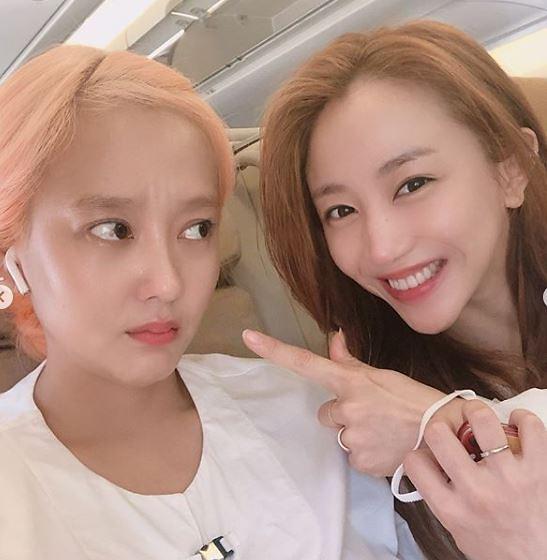 """[#SNS★] 천상지희 다나·선데이 친자매처럼 찰칵…""""으이구 이 웬수야"""""""