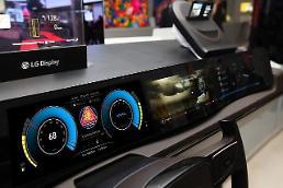 .【独家】现代汽车强化与LG集团电子装备项目合作 将使用宽银幕驾驶室.