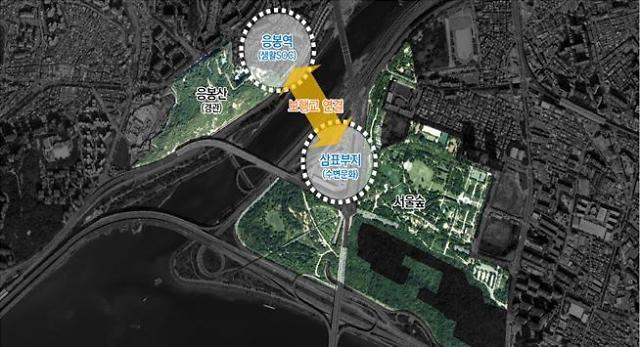 서울시, 도로로 단절된 서울숲~응봉역 350m 공중 보행교 놓는다