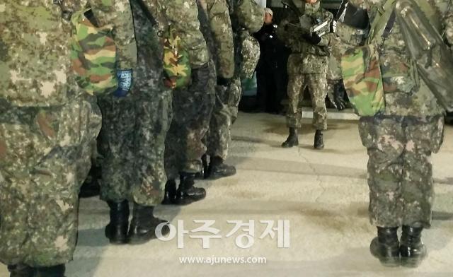 '여자친구 무차별 폭행' 현역 육군 중위 긴급체포