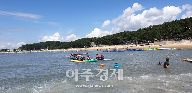 보령시 용두해변에서 해양레저스포츠 체험해보자!