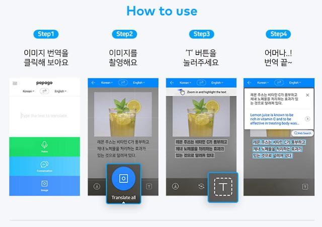 네이버 통·번역 파파고, 이미지 번역 기술 고도화... 영·중·한에 확대 적용