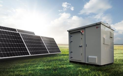 LG releases all-in-one energy storage system package for small-sized solar generators