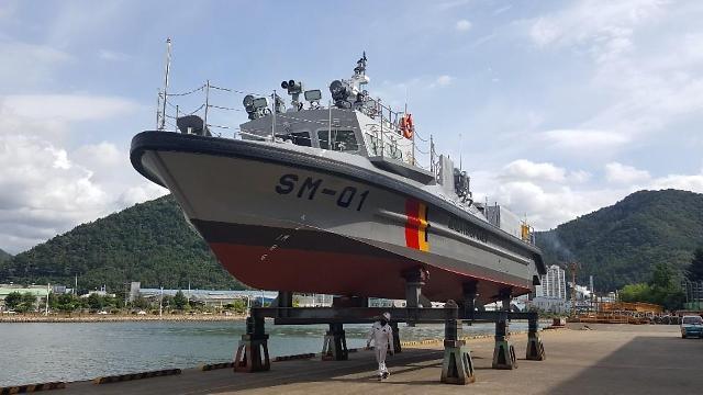 해경,' 서해5도 해상 수호' 최신형 50톤급 특수기동정 2척 진수