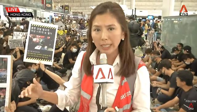 [단독] 홍콩 시위 한국인 다수 참여한 듯…한글 피켓 등장