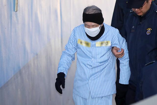 김기춘 실장, 세월호 허위보고 징역 1년6월에 집행유예 2년
