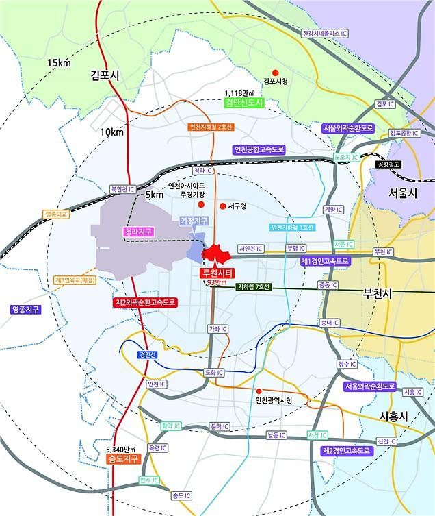 LH, 인천 루원시티 중심상업용지 공급