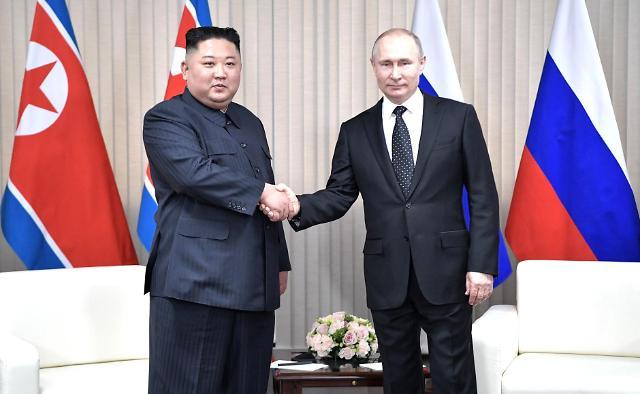 金正恩与普京互致光复节贺电