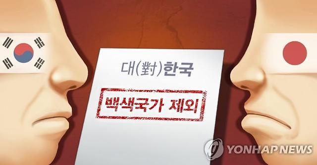 日, 韓의 일본 백색국가 제외 관련 공식 입장 유보