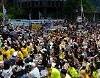 [1400回目の慰安婦水曜デモ] 2万人余り、旧日本大使館集結・・・「1500回はないように」