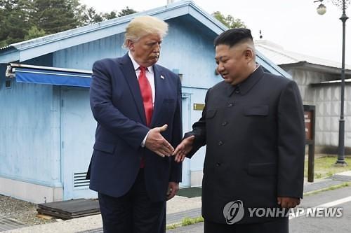 """""""北김정은, 회동 제안 트럼프 트윗 10분만에 전화"""""""