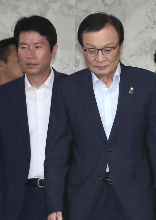 與, 김대중-노무현 서거 10주기 추모 사진전 개막식 참석