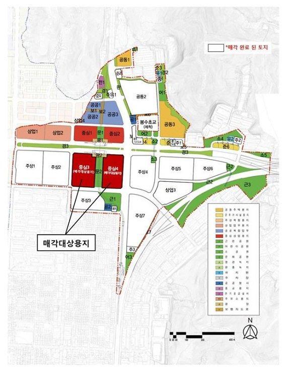 LH,인천 서구  루원시티 중심상업용지 2필지(중심 3·4블록) 경쟁입찰 방식으로 일괄 매각