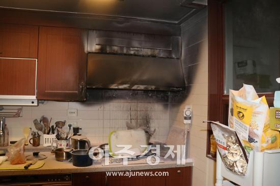과천소방, 주택 화재 자체소화기로 초기 진화 성공