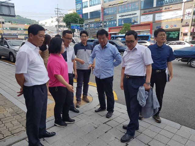 이용범 인천시의회 의장, 계양구 민원현장 방문