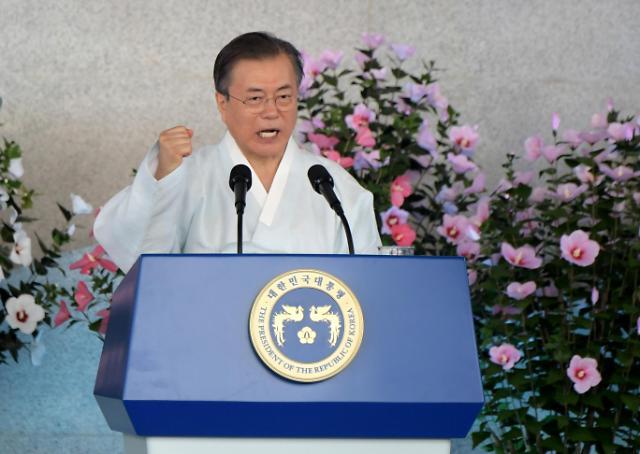 朝鲜对文在寅光复节发言表示不满 称不再与韩面对面对话