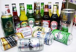 """.""""第一神话不再"""" 7月韩国日本啤酒进口减幅达45.1%."""