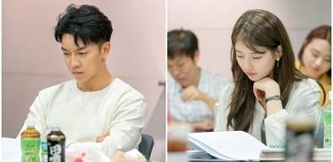 李昇基裴秀智《浪客行》剧本阅读照公开