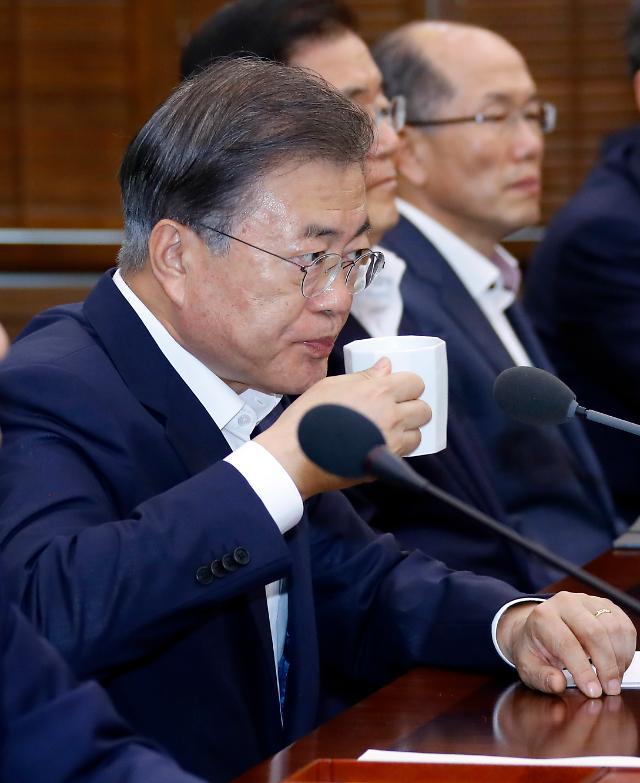 [리얼미터] 아베發 경제보복 국면…문재인 대통령 지지율 최고 52.1%, 최저 47.8%
