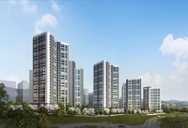 현대건설 컨소시엄, 이달 부천서 일루미스테이트 2508가구 분양