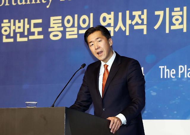 首尔全球和平基金会主席文铉镇:眼下充满不确定性,但也是实现统一的最佳时刻