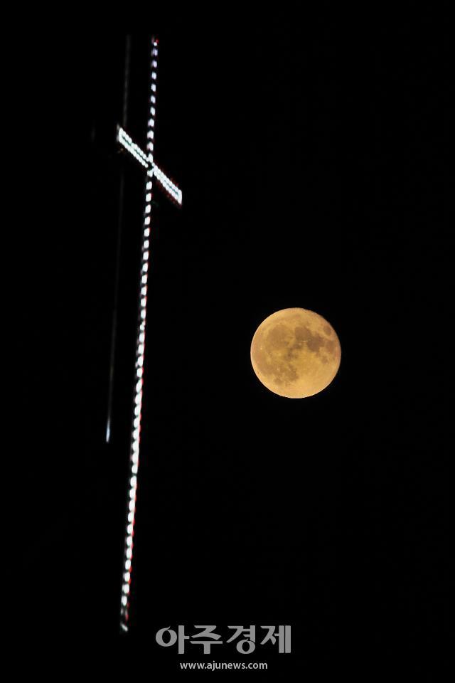 [포토] 8월의 보름달