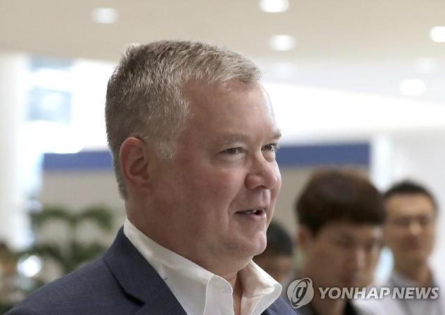 비건, 한미훈련 끝나는 20일 방한…대북협상 재개논의