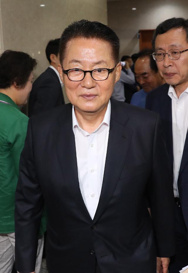 """박지원, 北 미사일 발사에 작심 비판…""""최소한 금도 벗어났다"""""""