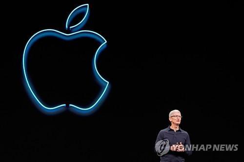 트럼프, 애플, 대중 관세 부과시 삼성과 경쟁에서 불이익 우려