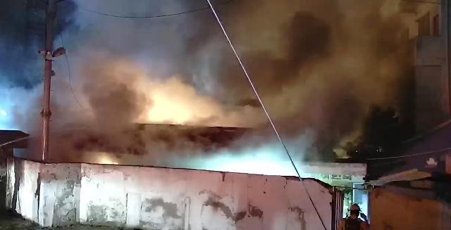 [슬라이드 화보] 전주 여인숙 화재로 투숙객 3명 사망