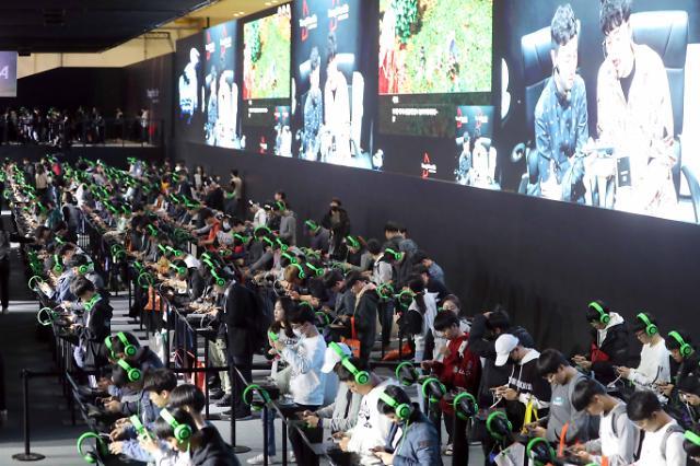 인기협, 국내 최대 게임 전시회 '지스타'서 스타트업 성장 돕는다