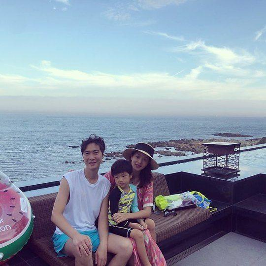 [#SNS★] 고지용♥허양임, 부쩍 큰 아들 승재와 럭셔리 가족여행