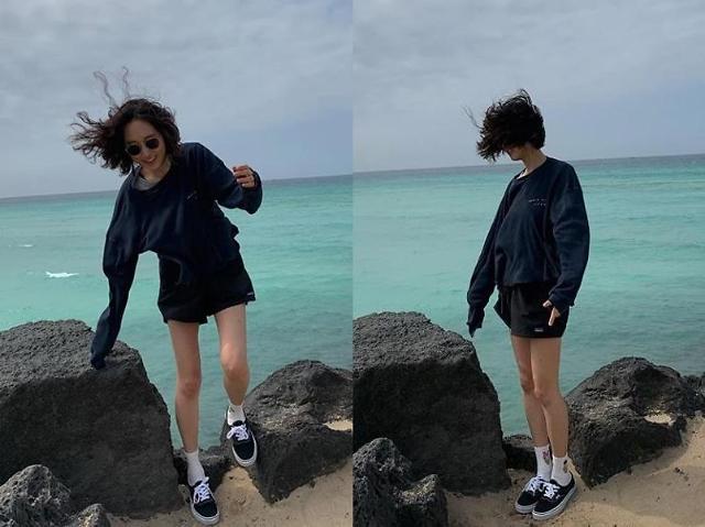 [#SNS★] 특별시민 류혜영, 젓가락 다리에 깜짝 너무 말랐네