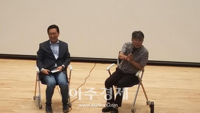 김한정 의원, 강원국 전 청와대 연설비서관 토크쇼…글 잘쓰는 비법 공개