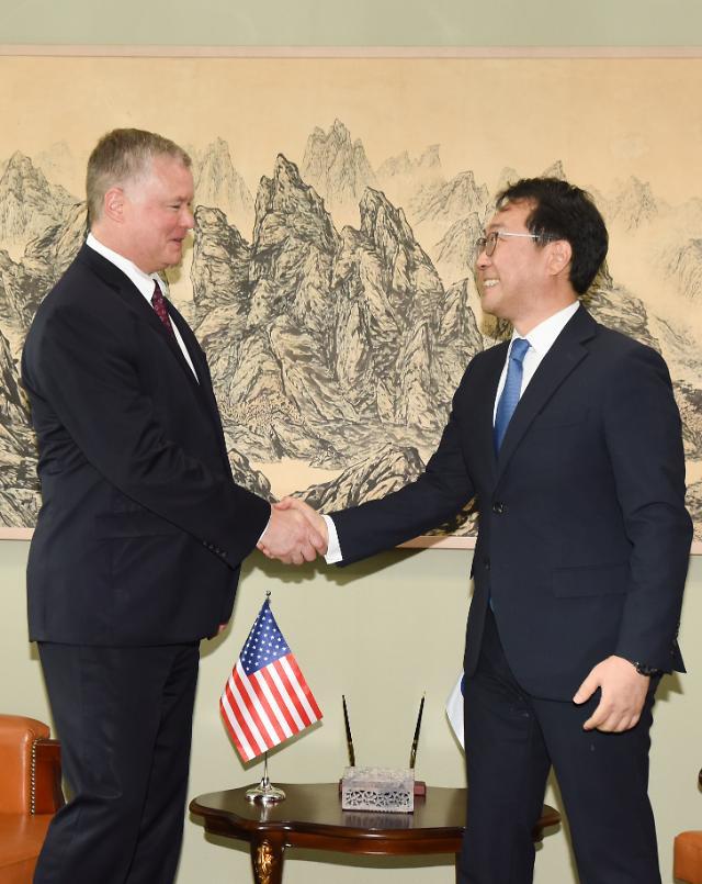한미북핵수석대표 협의…북미 협상전략 조율
