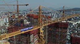 .韩国十大建筑企业一年间蒸发1600个工作岗位.