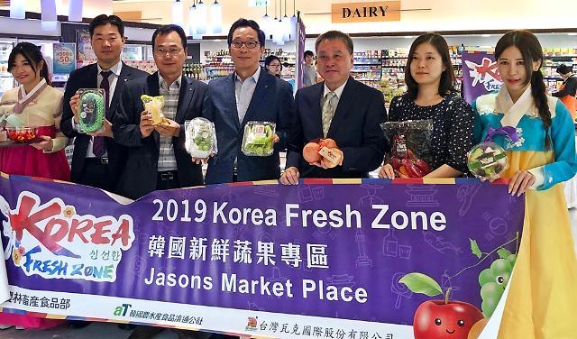aT, 한국 신선농산물 K-Fresh 수출로드 연다