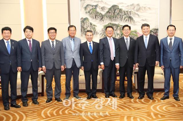 충남도의회 홍재표 부의장, 중국과 교류협력 위해 나서다