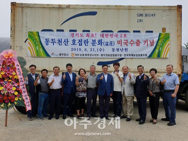 동두천 생산 호접란묘 미국수출 쾌거 경기도 최초, 대한민국 난 재배 역사에 큰 획
