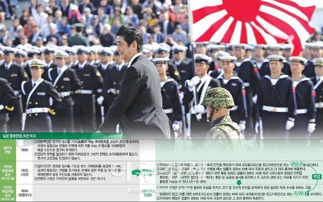 [아베정권의 실체]전쟁가능국 일본 전초작업은 자위대 정당화