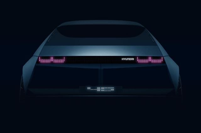 현대차, EV 콘셉트카 45 티저 이미지 공개