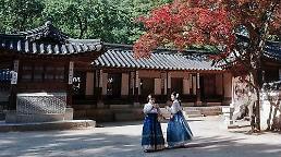 .中日年轻女性成访韩外国游客主力人群.